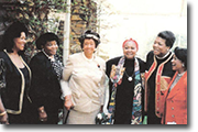 Dr. Ruth Love,Dr. Betty Shabazz, Dr. Dorothy Height, Singer Odetta, Dr. Maya Angelou and Belva