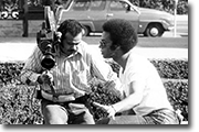"Photographer Dave Ambriz with Producer William Hazelwood ""All Together Now, KPIX"